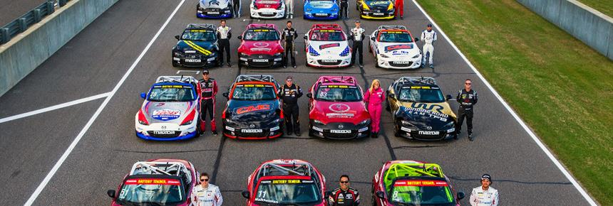 2017 MX-5 Cup Full Field