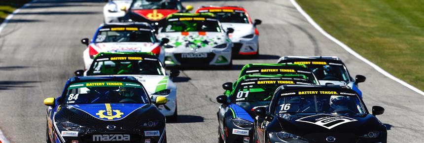 Dean Sweeps Battery Tender Global Mazda MX-5 Cup at Road America
