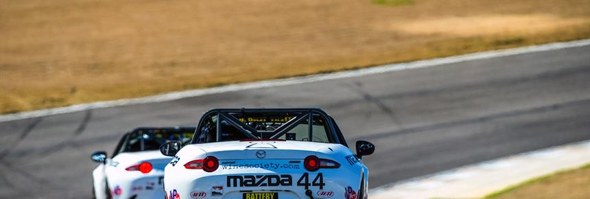 Strong Contingent of Global Mazda MX-5 Cup Entrant…