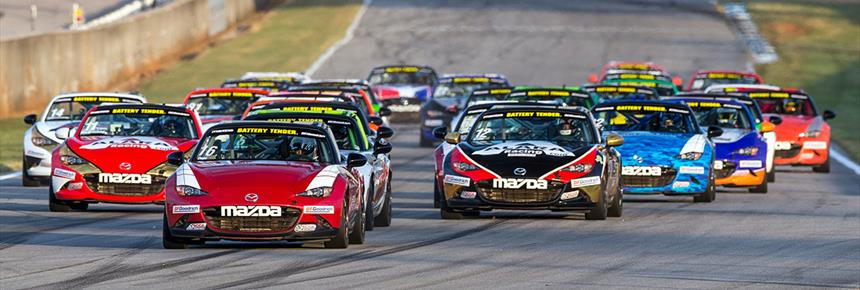Epic Mazda MX 5 Cup VIR Finish: First To Fifth In 0.15 Seconds