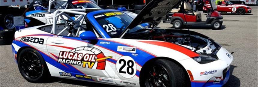 McCumbee McAleer Racing Grabs First Two Wins Of Mazda Global MX - Mazda racing series